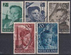 HOLANDA 1951 Nº 559/63 USADO - 1949-1980 (Juliana)