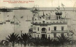 ALICANTE, NUEVO REAL CLUB DE REGATAS, INAUGURACION 11 FEBRERO 1911 - Alicante