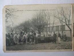 01112017 - 25 -  BESANCON -  4è REGIMENT D'ARTILLERIE - LE BATTAGE DES COUVERTURES - LE PANSAGE - Besancon