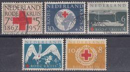 HOLANDA 1957 Nº 673/77 USADO - Periodo 1949 – 1980 (Juliana)