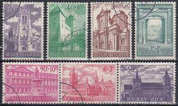 BELGICA 1962 Nº 1205/11 USADO - Bélgica
