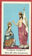 PS----MARIA SANTISSIMA DELLA CONOLAZIONE CHE SI VENERA A PATERNO' CT----2 SCANS - Images Religieuses