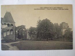 01112017 - 44 -  CHATEAUBRIAND - COUR DU CHATEAU   -  COTE DES RUINES - Châteaubriant