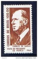 Thème Général De Gaulle - Brésil - Yvert 763 - Neuf*** - De Gaulle (General)