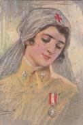 VECCHI-Serie 1002Croce Rossa Italiana -Vg Il 11.12.1915-Originale 100% - Illustratori & Fotografie