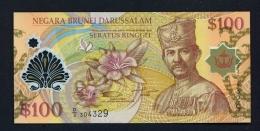 BRUNEI  -  15/07/2004  $100  UNC Banknote - Brunei