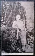 Myamar Birmanie Petite Princesse Birmane Cpa Burma - Myanmar (Burma)