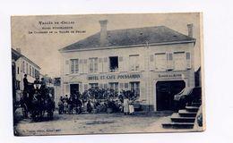 CELLES SUR PLAINE VOSGES HOTEL POUSSARDIN LE COURRIER DE LA VALLEE DE CELLES  TAMPONS CELLES S PLAINESUR REVIGNY - France