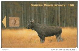 FINLAND - Reindeer, Sonera Telecard, Tirage 30000, 12/98, Used - Finlandia