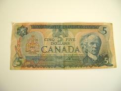 CANADA - 5 DOLLARS - ( 1979 ) - Canada