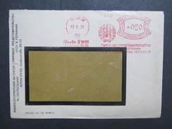 BRIEF Berlin 1931 Handelsvertrettung Der UdSSR 1931 Frankotype Freistempel Postfreistempel /// N6353 - Deutschland