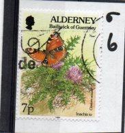 ALDER NEY 1994-98 Flora And Fauna 7p Used - Alderney