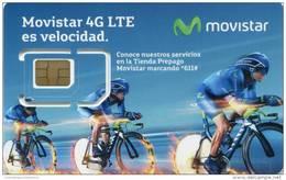Lote TT226, Colombia, Tarjeta Telefonica, Phone Card, Movistar, SIM Prepago, Prepaid, Mint, 2016, Cycling - Colombia
