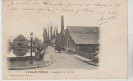 Cher VIERZON - FORGES Avenue De La Verrerie  (1903) - Vierzon