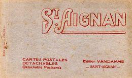 41-SUPERBE CARNET DE 20 CPA DE SAINT-AIGNAN SUR CHER - Saint Aignan