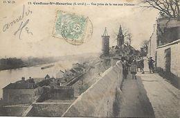 CONFLANS Ste HONORINE - Vue Prise De La Rue Aux Moines N° 13 - Conflans Saint Honorine