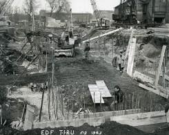 Issy Les Moulineaux Travaux Usine EDF TIRU Poclain Ancienne Photo Lepicier 1963 B3 - Places