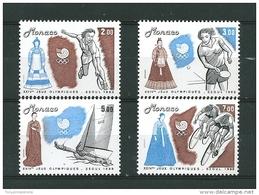 Monaco Timbres De 1988  Neufs** N°1645 A 1648 - Nuovi