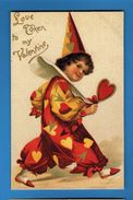 To My Valentine Con Il Cuore In Mano   RIPRODUZIONE.   Vedi Descrizione - San Valentino
