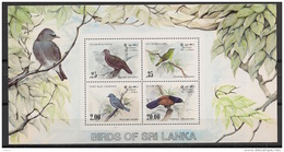 Sri Lanka - 1983 - Bloc Feuillet BF N°Yv. 21 - Faune / Oiseaux - Neuf Luxe ** / MNH / Postfrisch - Birds
