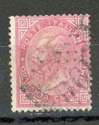 ITALIE : SOUVERAIN N° Yvert 19 Obli. - 1861-78 Vittorio Emanuele II