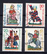 RFA 1970  POUR LA JEUNESSE     YVERT Nº 475/478  OBLITÉRÉS  CECI 2 Nº 133 - [7] República Federal