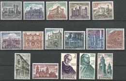 TP D'ESPAGNE N° 1632/36 + 1637/42 + 1651/55  NEUFS SANS CHARNIERE - 1961-70 Neufs