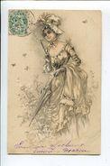 Viennoise  Femme à L'ombrelle - Femmes