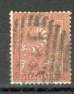 ITALIE :   CHIFFRES N° Yvert 13 Obli. - 1900-44 Vittorio Emanuele III