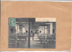 AUXERRE - 89 - Le Collège - Le Réfectoire  - TON3 - - Auxerre