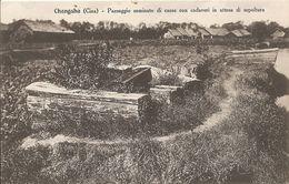 CHANGSHA - Paesaggio Con Casse Di Cadaveri In Attesa Di Sepoltura - FORMATO PICCOLO - (rif. I81) - Chine