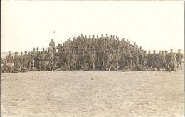 Foto Cartolina - GRUPPO SOLDATI Fotografo F.lli Gerardi Verona Recoaro Peschiera Sul Garda FORMATO PICCOLO - (rif. I85) - Guerra 1914-18