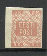 ESTLAND Estonia 1918 Michel 1 * - Estonie