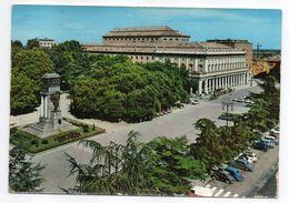Italie--REGGIO EMILIA -- Théâtre Et Jardins (voitures , Monument ) --timbre --cachet - Reggio Nell'Emilia