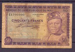 Mali  50 Fr Fine - Mali