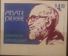 O) 1994 URUGUAY, PROOF, ABATE PIERRE-GOQ WAS A FRENCH CATHOLIC PRIEST-MEBER RESISTANCE WORLD WAR II. SCOTT A679, MNG - Uruguay