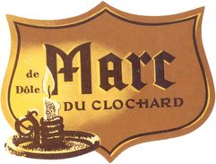 1501 - France - Marc Du Clochard De Dôle - Labels