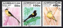 AZERBAIJAN - 1996 -  UCCELLI - BIRDS - USATI - Azerbaijan