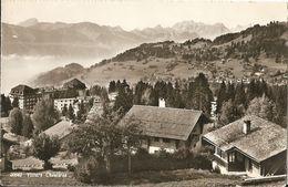 VILLARS SUR OLLON - CHESIERES - FORMATO PICCOLO - VIAGGIATA 1963 - (rif. I94) - VD Vaud