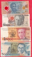 Brésil 11 Billets EN UNC (4 Lots -45 Billets  AUCUN DOUBLE  -10 Reais Année 2000 FORTE COTE EN UNC) Lot N °2 - Brazilië