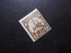 D.R.Mi 20  3Pf*/MLH  Deutsche Kolonien ( Marianen ) 1919  Mi 10,90 € - Colonia:  Islas Maríanas