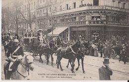 Visite Du Lord-Maire A Paris - 11 Boulevard De Sébastopol - ELD 11 - Arrondissement: 03