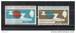 615 - SOLOMON ISLANDS 1965 , Centenario Dell' U.I.T.  ( Ovvero I.T.U. ) *** - Isole Salomone (1978-...)