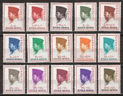 Indonesia 1965 Sukarno Conefo. Scott B165  MNH** - Indonesië