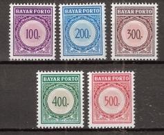 Indonesia 1977 Port, Dienst, Service ZBL 56-60 MNH/** Postfrisch - Indonesië