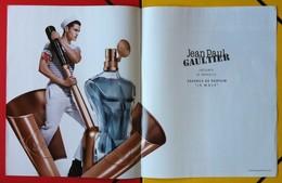 J-P Gaultier - Le Male, Essence De Parfum - Publicités Parfum(journaux)