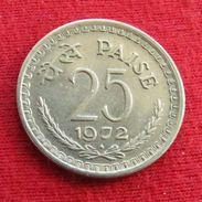 India 25 Paise 1972 B KM# 49.1 Inde Indie - Inde