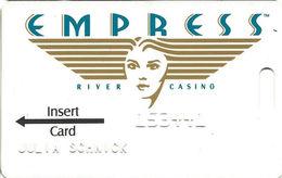Empress Casino - Joliet IL - 1st Issue Slot Card - Casino Cards