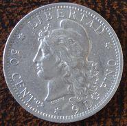 (J) ARGENTINA: Silver 50 Centavos 1882 XF+ (661) SALE!!!!!!! - Argentina