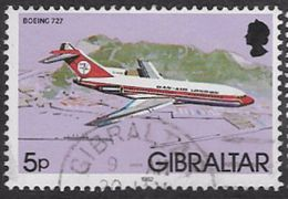 Gibraltar SG464 1982 Aircraft 5p Good/fine Used [27/23846/2D] - Gibraltar